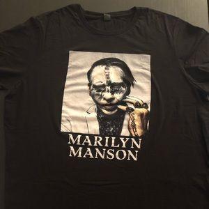 Hot Topic x Marilyn Manson Tee - Black